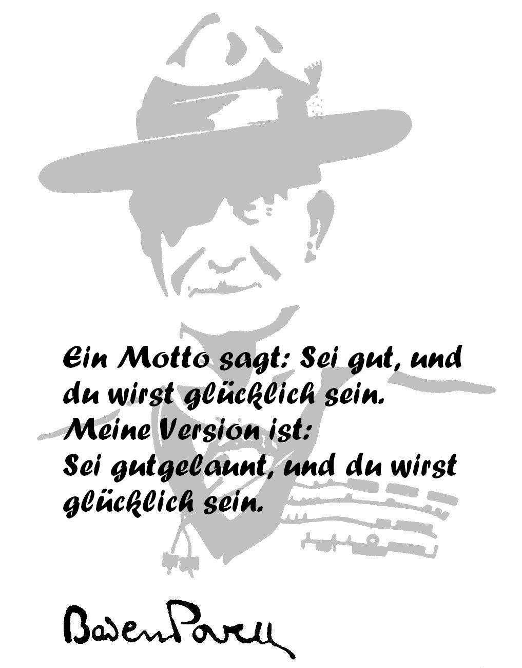 Baden Powell Zitat